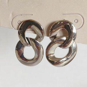 *3/$20* 14th & Union double loop drop earrings